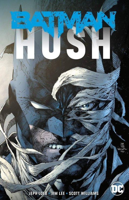 batman hush dc comics cover