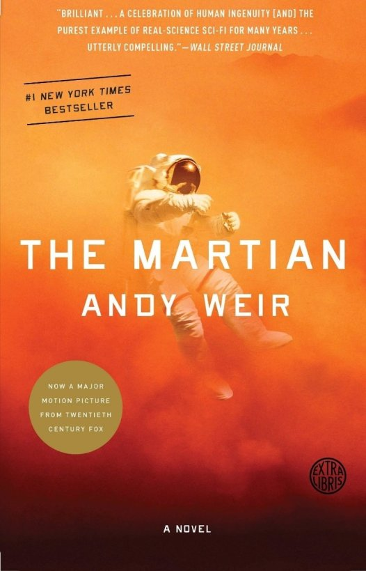 the martian andy weir book cover