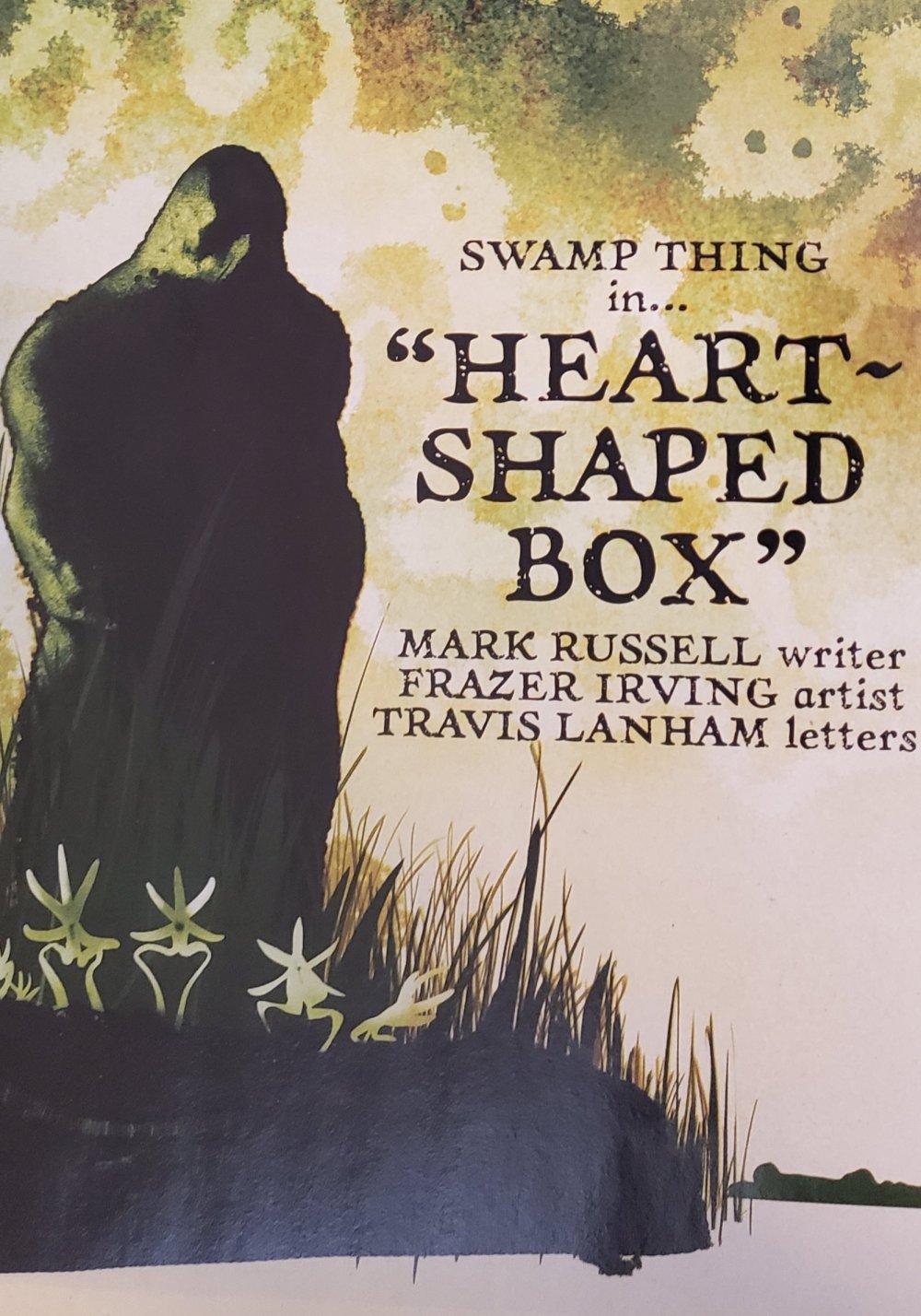 Swamp Thin in Heart Shaped Box