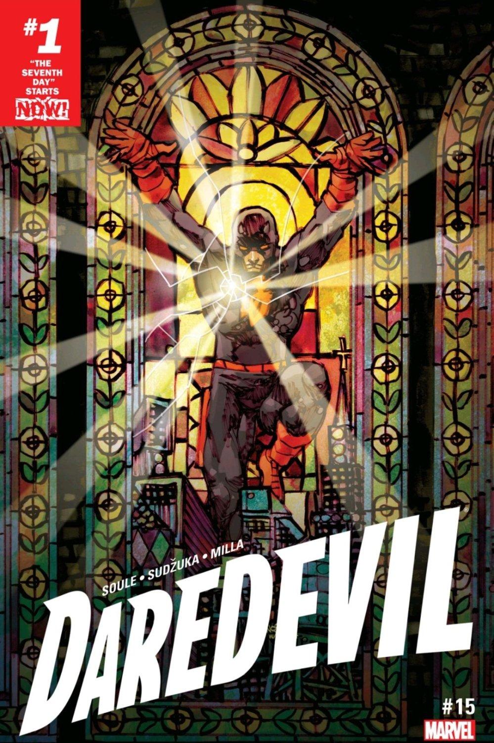 Daredevil issue 15 cover