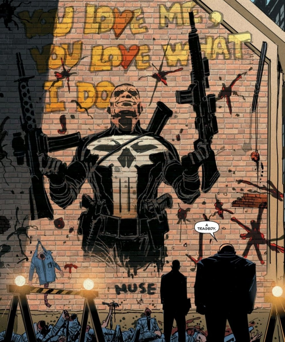 mural by Muse of The Punisher
