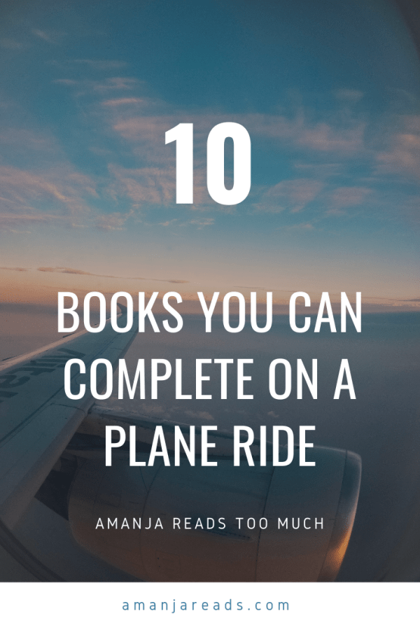 10 books you can complete on a plane ride