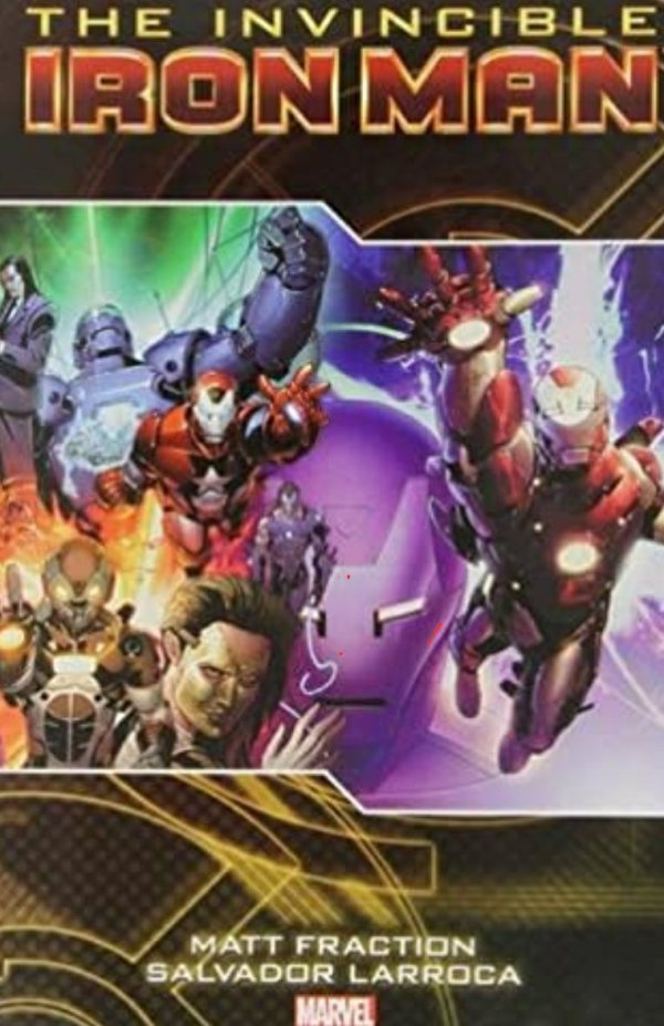 the invincible iron man comics cover