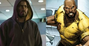 luke cage from netflix show side by side with comic book luke cage