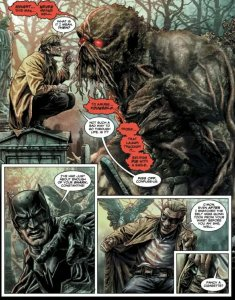 constanting and batman in batman damned