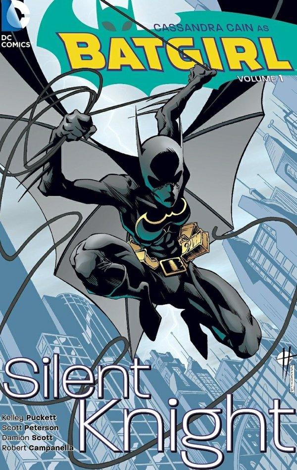 cassandra cain batgirl silent knight