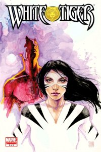 david mack cover of white tiger featuring daredevil