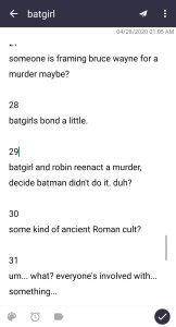notes from batgirl volume 3