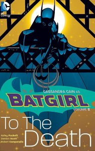 batgirl colume 2 to the death cover