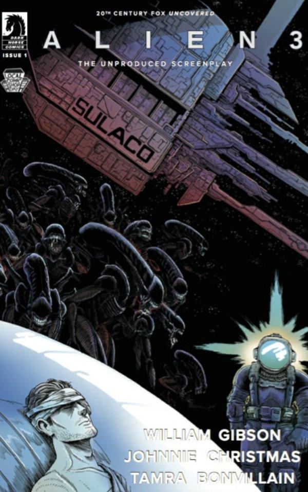 alien 3 comic book cover