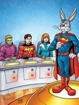 bugs bunny and the legion of superheroes