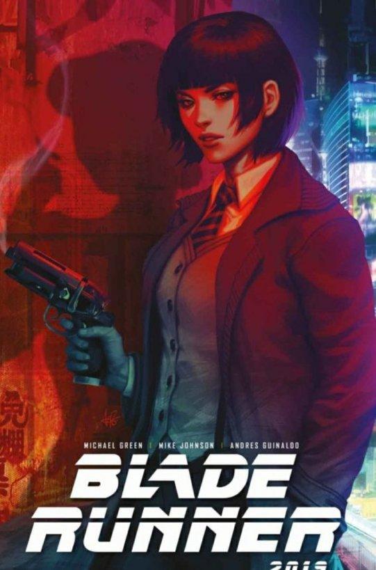 blade runner comic book cover