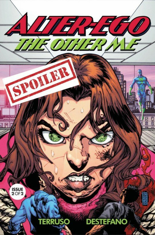 alter ego the other me issue two summary and spoilers