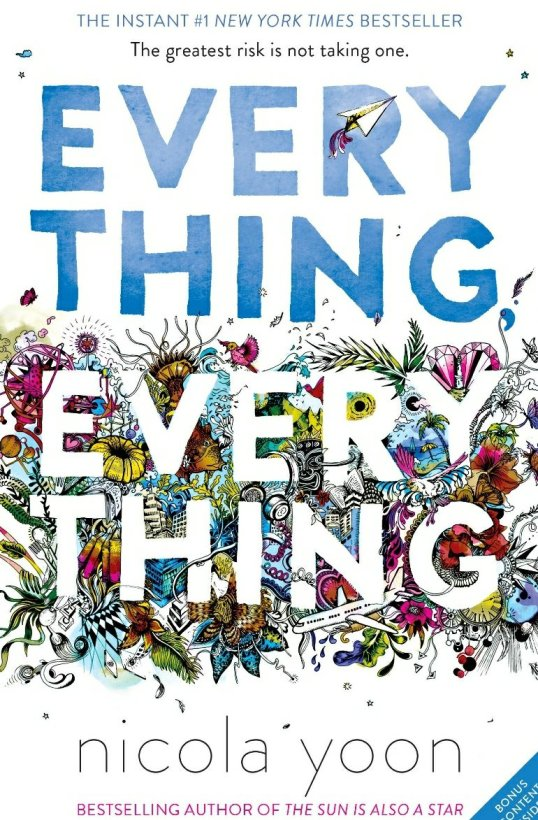 nicola yoon everything everything book cover