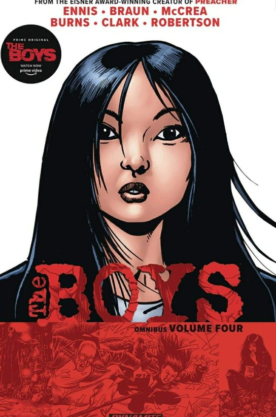 the boys graphic novel the female cover