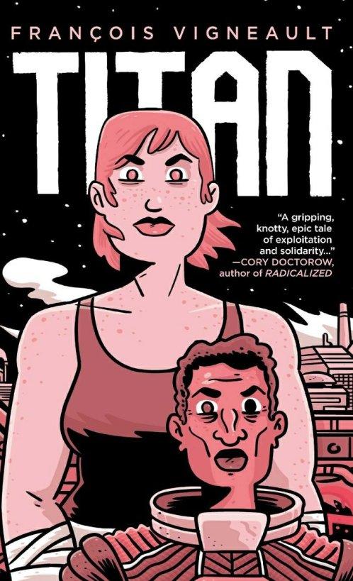 francois vigneault titan graphic novel