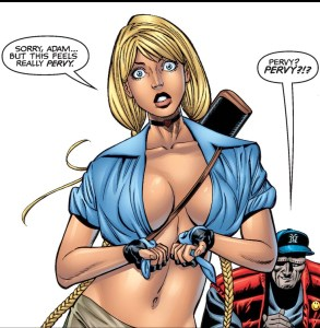 elsa bloodstone's boobs