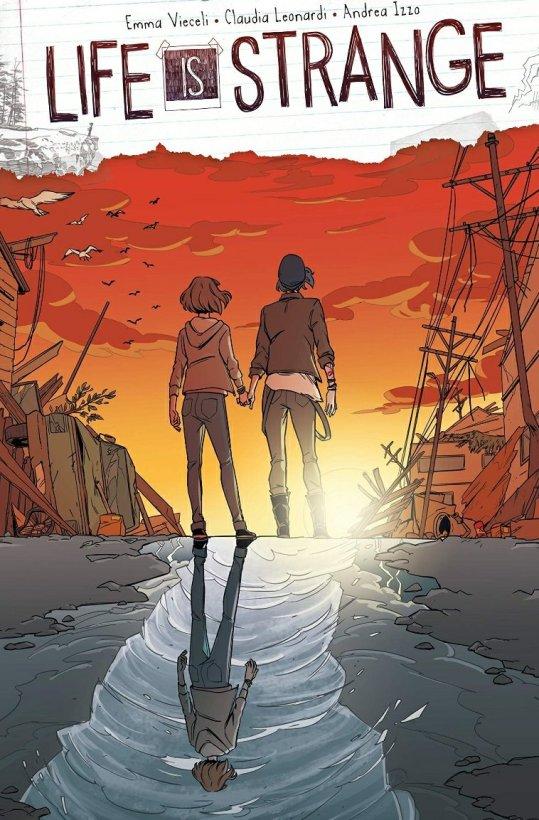 life is strange graphic novel cover