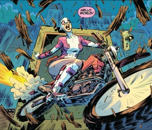 gwenpool being chaotic