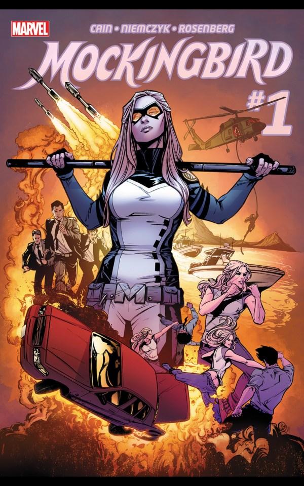 mockingbird marvel comics cover