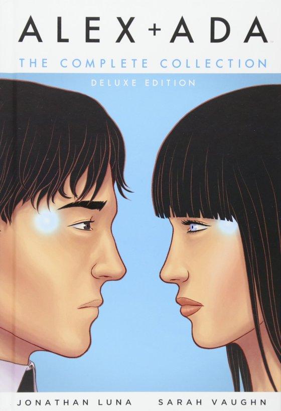 Alex + Ada graphic novel cover