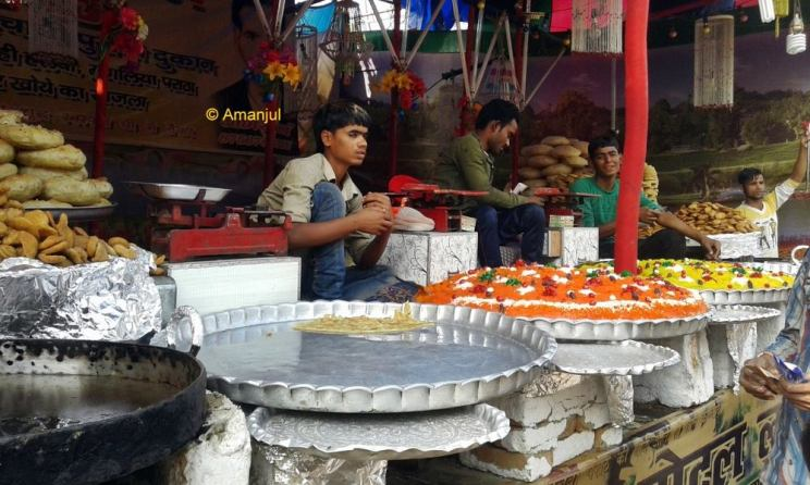 The Yummy food stall