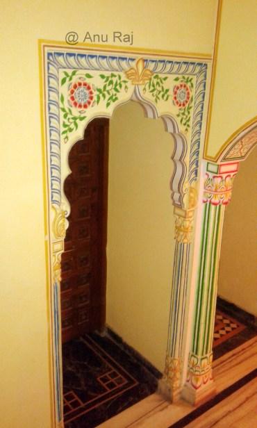 Room entrance on 2nd floor