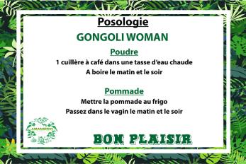 MODE D'EMPLOI GONGOLI