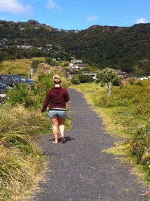 Girls Barefoot New Zealand Schools