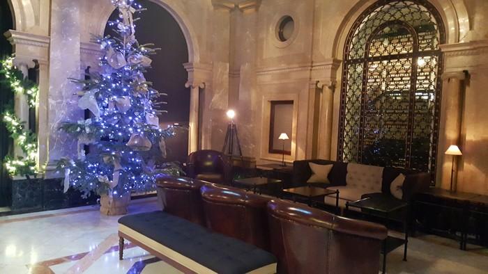 Notre hôtel fête Noël