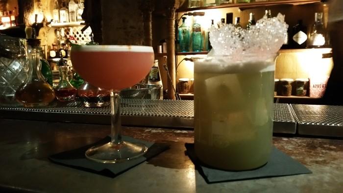 Les cocktails créatifs de l'Ocaña