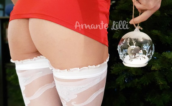 Lingerie Mere Noël sexy Noel coquine en nuisette