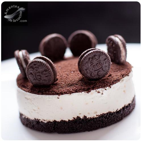 Cheesecake de Oreo  amantesdelacocina