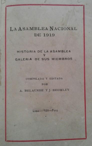 Asamblea Nacional 1919
