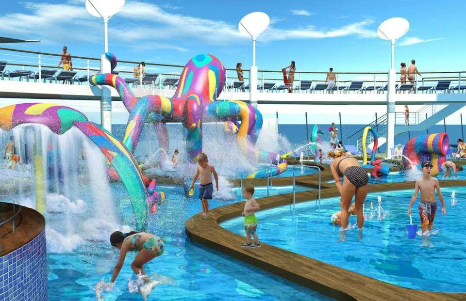 Área de piscina de Cruzeiro