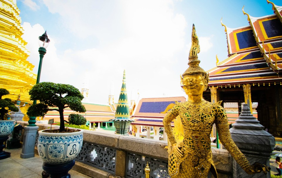Palácio Real- Bangkok