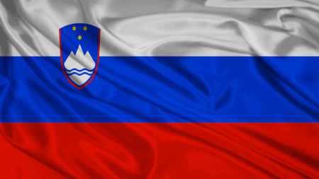 Bandeira da Eslovénia