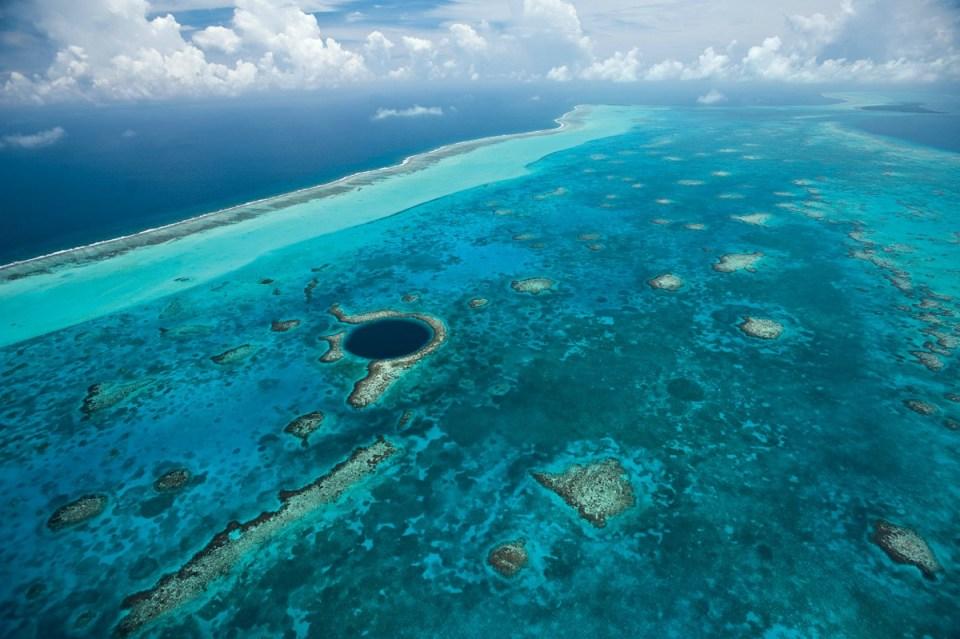 Barreiras de Coral de Belize