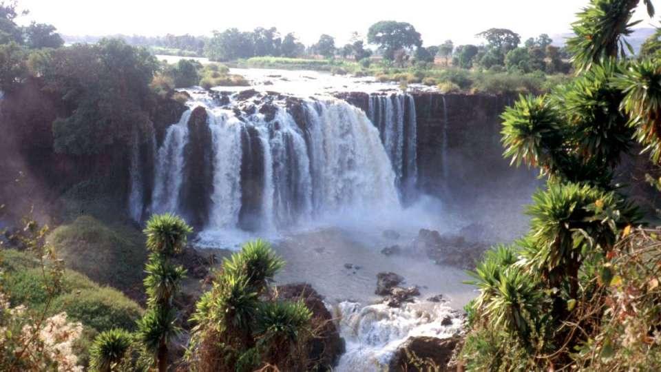 Cascata Blue Nile