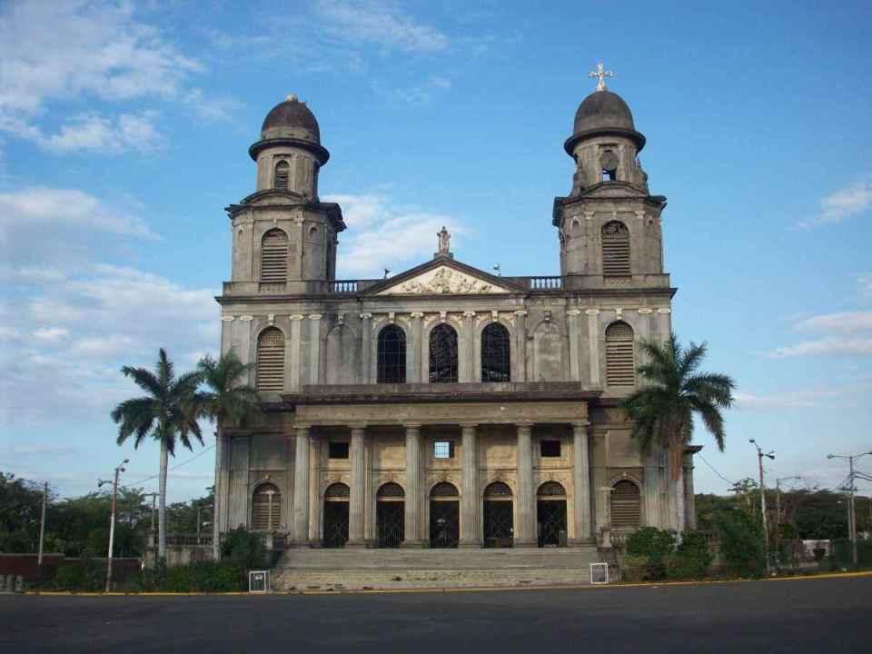 Catedral antiga de Manágua