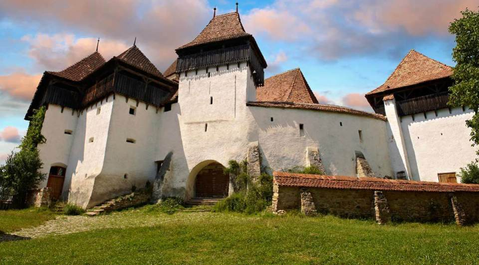 Igreja Viscri fortificada