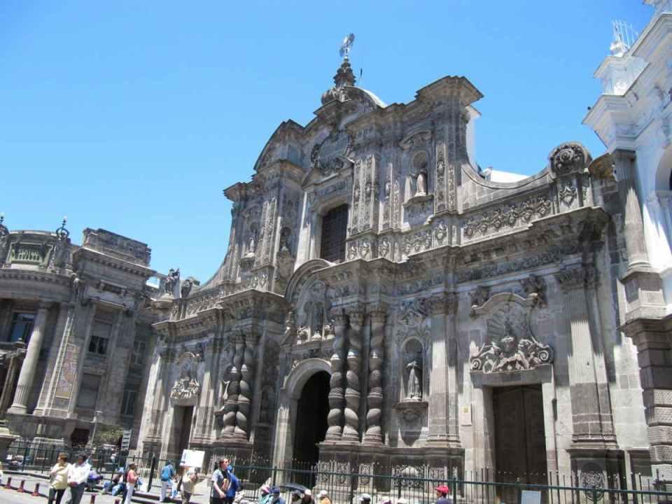 Igreja da companhia de Jesus-Quito