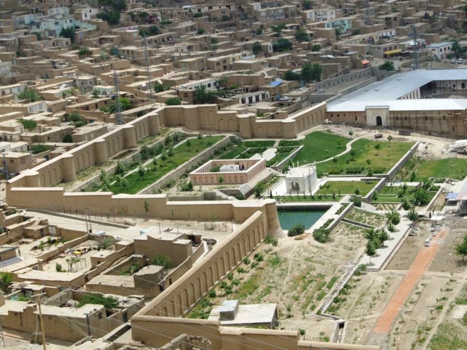 Jardins de Babur - Cabul
