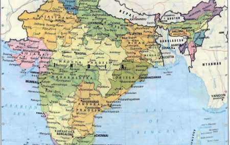 Mapa da India