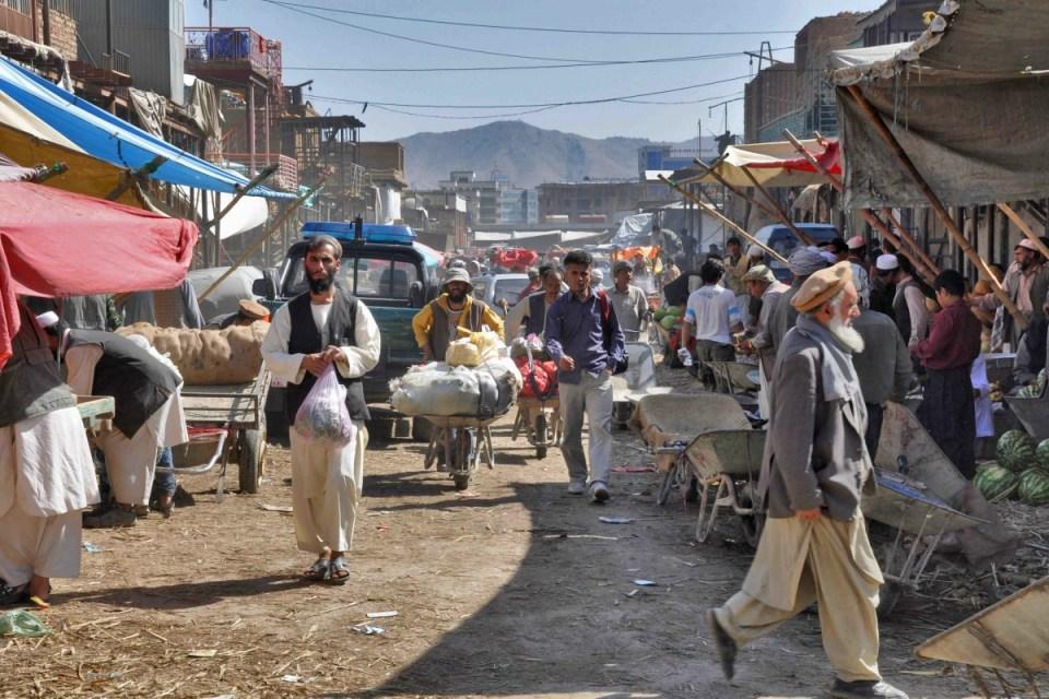 Mercado de Cabul