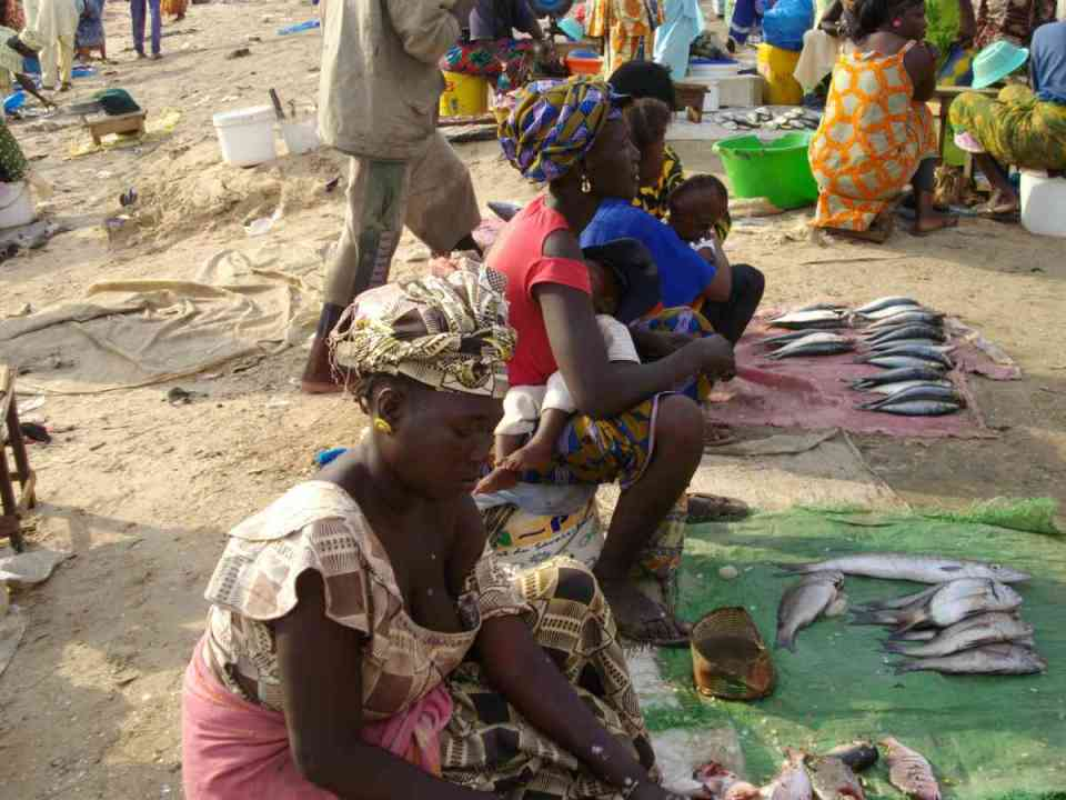 Mercado de Peixe em Mbour