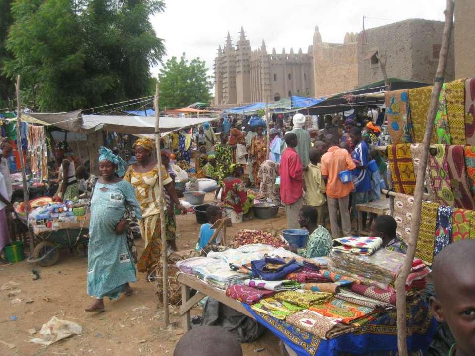 Mercado em Bamako