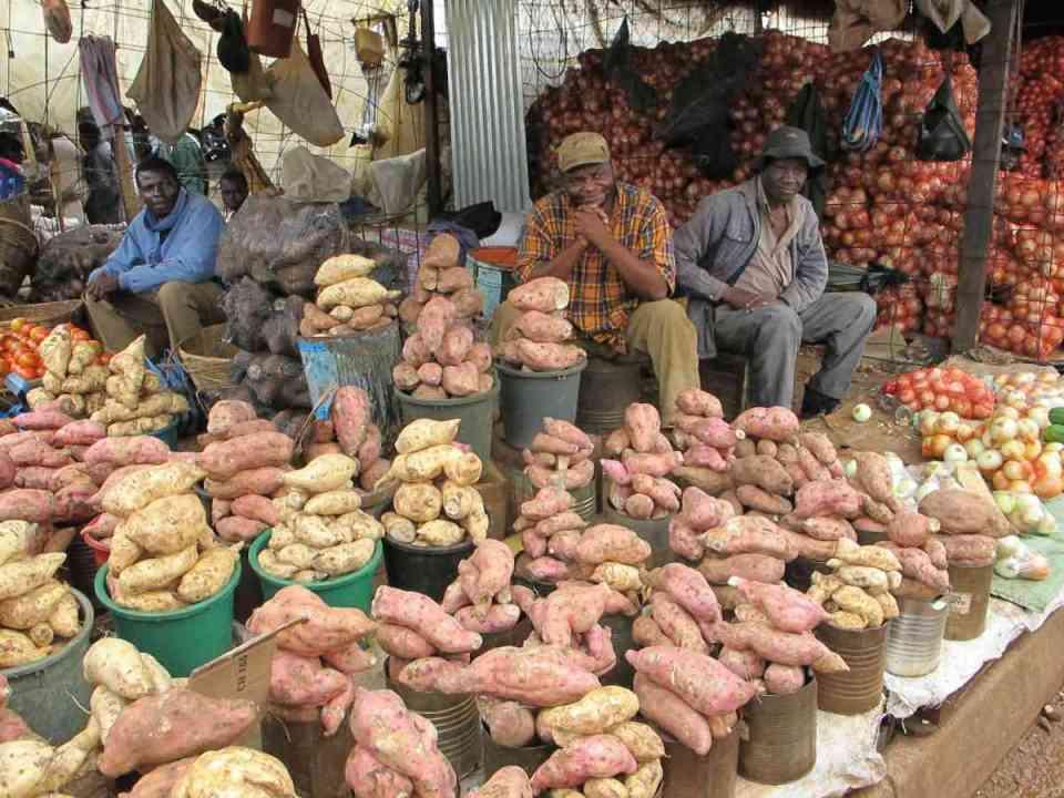 Mercado em Harare