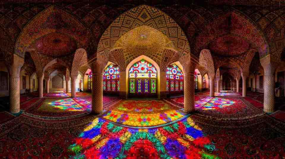 Mesquita Nasiral-Mulk em Shiraz