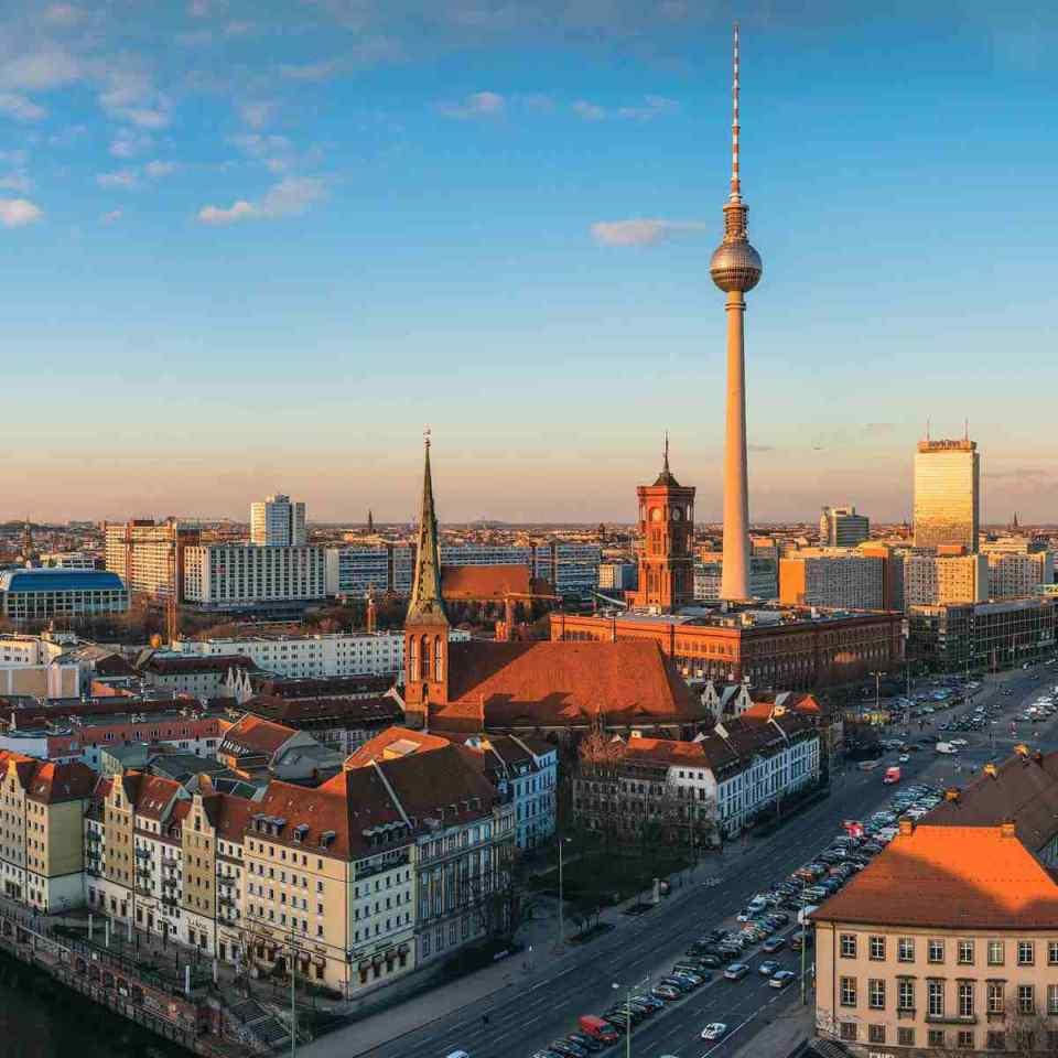 Panorâmica de Berlim